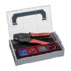 Клещи рычажные для опрессовки и набор кабельных зажимов Sortimo L-BOXX Mini