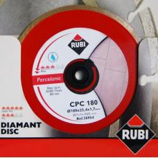 Диск алмазный RUBI CPC-180 PRO 30954